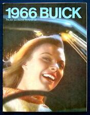 Prospekt brochure 1966  Buick Riviera * Electra * Wildcat * Skylark  (USA)