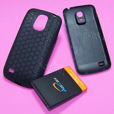 3in1 Extended Battery Door Cover TPU Case for Samsung Galaxy S4 mini L520 Sprint