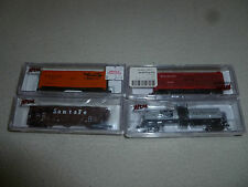ATLUS TRAIN NSCALE STAUFFER CHEMICAL PLUG DOOR BOX CAR GREAT NORTHERN STOCK LOT