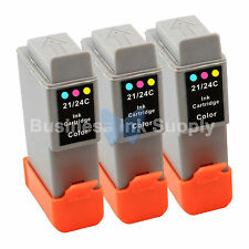 3 COLOR BCI-24 BCI24 NEW Compatible Ink Cartridge for Canon BCI-24C HIGH YIELD