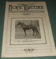 A Vintage Issue of the American Horse Breeder Magazine for May 24th 1916