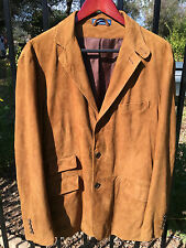 POLO RALPH LAUREN Suede Leather Hunting Jacket 40 L