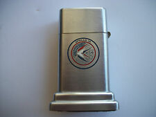 1971 Zippo Barcroft table lighter Apollo 15 USS Okinawa Recovery ship