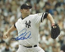 JOBA CHAMBERLAIN AUTOGRAPH SIGNED 8X10 PHOTO NEW YORK YANKEES COA