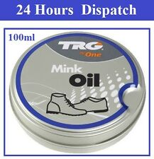 TRG MINK OIL LEATHER SOFTENER WATERPROOFER CONDITIONER NANO SHOES BOOTS BAGS