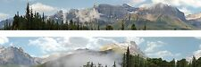 "Scenic Backdrop Rockie Mountains 260N (10' L x  9"" H) Premier N Scale"