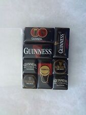 BRAND-NEW GUINNESS BEER SET OF EIGHT MAGNETS