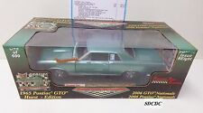SUN STAR PYE 2006 PONTIAC NATIONALS 1:18 1965 PONTIAC GTO REEF TURQUOISE