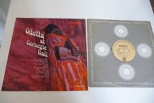 ODETTA AT CARNEGIE HALL LP VANGUARD SRV-3003. US PRESS.