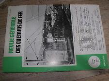 µµ Revue Generale des Chemins de Fer 1978 mars traitement defaut surface rail