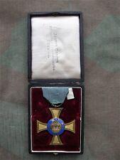 Preußen Kronenorden 4. Klasse + dazugehöriges Verleihungsetui 100% original