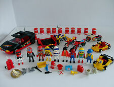 Playmobil Motor Racing Bundle with Loads of Accessories
