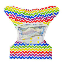 Alva Baby Colored Snap Cloth Diaper Cover With Double Gussest PUL
