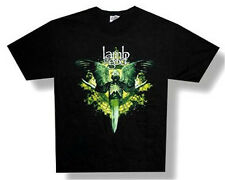 "LAMB OF GOD - ""BLADE"" GAS MASK BLACK T-SHIRT - NWOT ADULT X-LARGE XL"