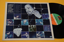 CHARLES MINGUS LP THREE OR FOUR SHADES OF BLUES ORIG GERMANY 1977 EX+ ! AUDIOFIL