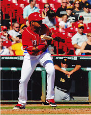 YORMAN RODRIGUEZ  CINCINNATI REDS   ACTION SIGNED 8x10