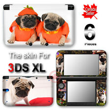 Dog Pug Cute Pet SKIN VINYL STICKER DECAL COVER for Nintendo 3DS XL