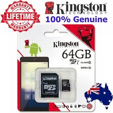SD SDHC SDXC MicroSD Card 64gb Kingston Class10 GPS Phone Camera Memory Card SLR