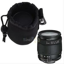 Water Resistant Neoprene Soft  DSLR Camera Lens Pouch Bag Small Backpack Case