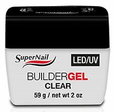 SuperNail LED/UV Builder Gel Clear - 2oz (51601)