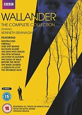 WALLANDER Stagioni 1-4 Raccolta Completa BOX 8 DVD in Inglese NEW .cp