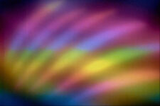 520044 Soft Focus Rainbow Colors A4 Photo Texture Print