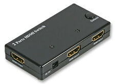 Cables 4 ALL 2 Port Automatic HDMI Switch - connects 2 into 1 HDMI port 1080p