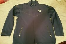 NIKE RAMS JACKET LARGE NAVY BLUE/GOLF STORM-FIT MUST SEE