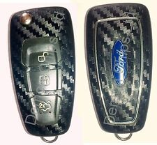 Ford Focus Key Fob Carbon Fibre Effect Car Sticker Decal Wrap Mondeo Fiesta