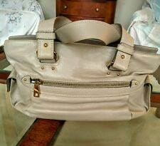 NEW AUTH Marc Jacobs Beige Leather Handbag - RARE, Leather Inside/Outside