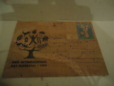 extremely rare International Year of Forests - 1st Full Postal CORK in the world