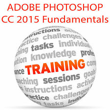 Adobe PHOTOSHOP CC 2015 Fundamentals - Video Training Tutorial DVD