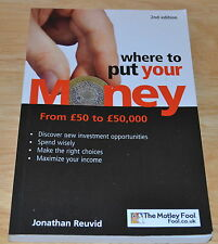 Jonathan Reuvid Where to Put Your Money   9780749447564