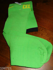 NUOVO NIKE Glasgow Celtic Away Calze (LIME VERDE) STAGIONE 2010-11 Adulti Piccolo