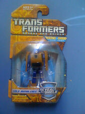 Transformers RTS Reveal Shield Gold Bumblebee Legends Class NEW FREE SHIP US