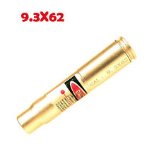New 1pcs Brass CAL .9.3X62 Red Dot Laser Bore Sight Cartridge Bore sight Hunting