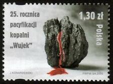 POLAND MNH 2006 The 25th Anniversary of the Pacification of the Wujek Mine