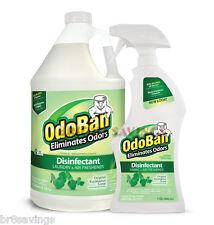 OdoBan Odor Eliminator Eucalyptus 1 Gallon Concentrate & 32 oz Spray Bottle