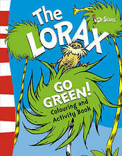 The Lorax Go Green Activity & Colouring Book by Dr. Seuss (Paperback, 2010) NEW