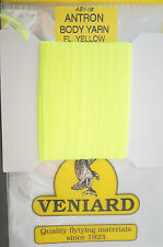 Veniard ANTRON Body Yarn ABY-08 FLUO YELLOW