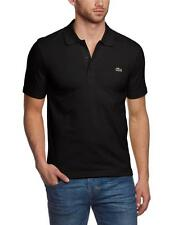 NEW LACOSTE SPORT MEN'S ATHLETIC COTTON POLO T-SHIRT NOIR YH7680 51 031 T5