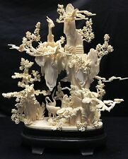 Bone Carving the Five Goats City - Guangzhou(Canton) - This is NOT Ivory