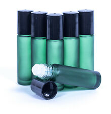 10ML EMPTY GLASS ROLL ON BOTTLE , LIQUIDS ESSENTIAL PERFUME OIL REFILLABLE