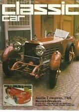 THOROUGHBRED CLASSIC CARS AUG 1974 AUSTIN 7 CUTAWAY TR4 RECORD-BREAKERS BRISTOL