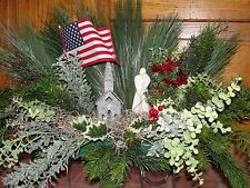 USA Nation American Flag Church Christmas Valentines Day Sympathy Grave Flowers