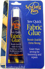 Fabric Glue Textile Glue Hemming Glue Adhesive Sew Quick Sewing Extra Strong New