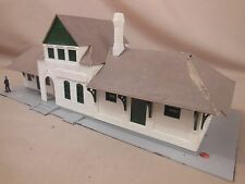HO SCALE PASSENGER DEPOT STRUCTURE LAYOUT BUILDING LOT 169