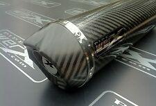 Yamaha Fazer FZS 1000,00-06 Carbone Rond,Sortie Carbone,Silencieux Echappement