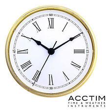 Inserimento Orologio 132 mm Quarzo Acctim Oro Lunetta WHITE ROMAN DIAL