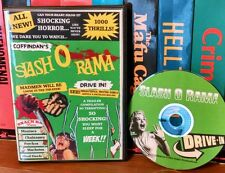 Coffindans Slash O Rama Drive-In! Trailer compilation. Slashers, blood fiends!